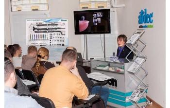 07 ноября состоялась лекция-семинар «Хирургические и ортопедические аспекты работы с системой имплантатов Bicon»