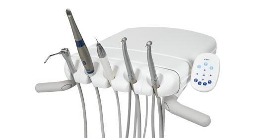 Блок врача с нижней подачей инструментов стоматологической установки A-Dec 500