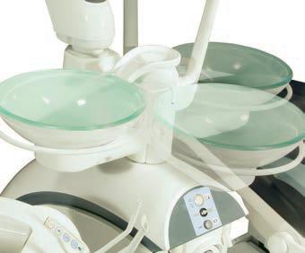 Съемная чаша плевательницы с круговым омыванием