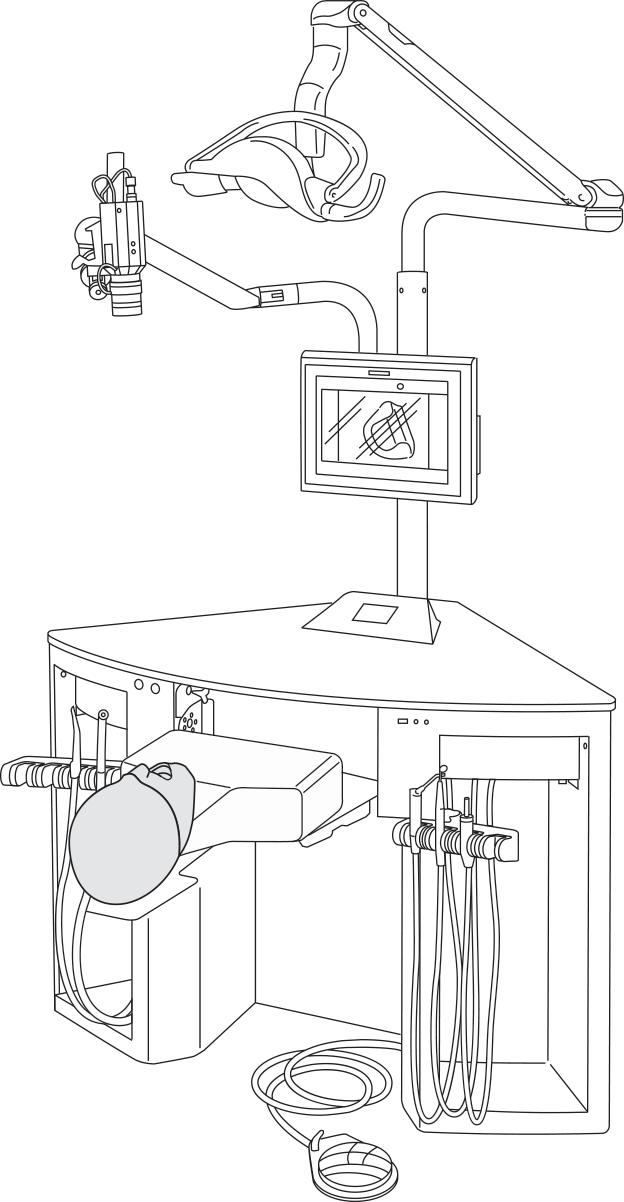 Тренажёр стоматологический - рабочее место 4