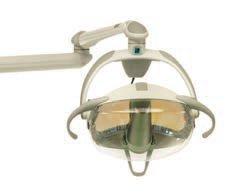 Операционный светильник Модель Edi для стоматологической установки Fedesa Arco