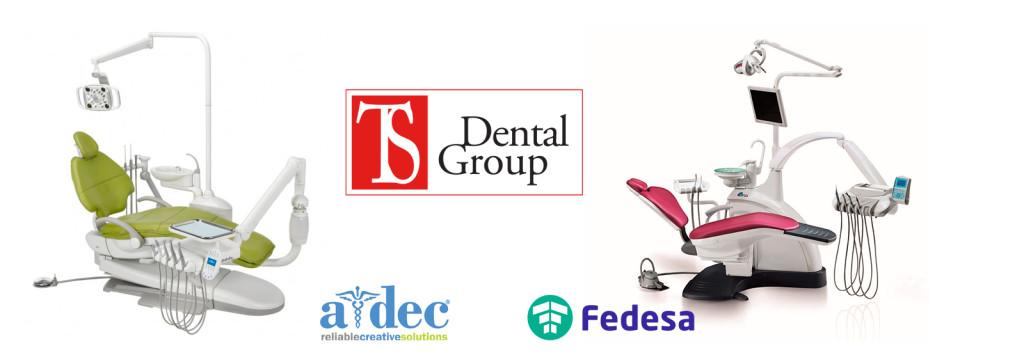 стоматологические установки A-dec и Fedesa